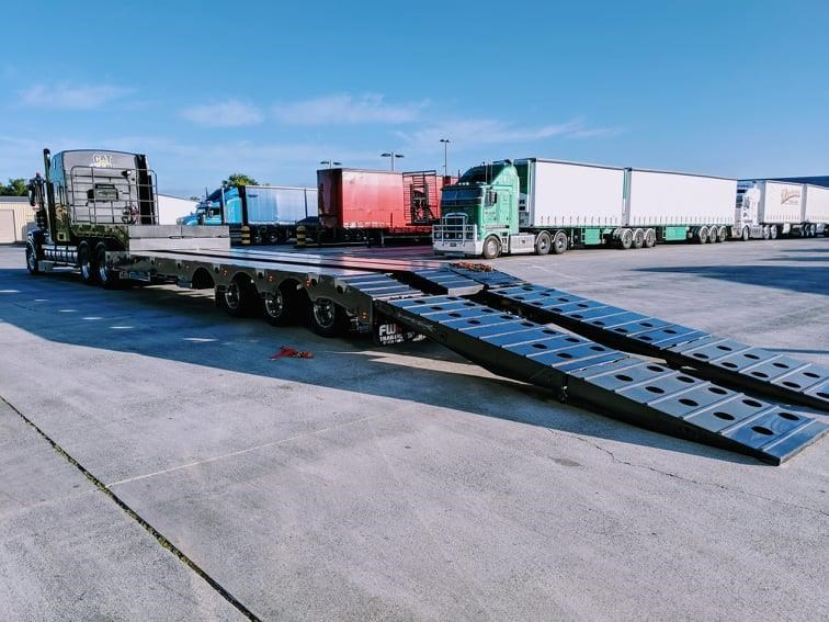 fwr 3.5m deck widener low loader 707624 057