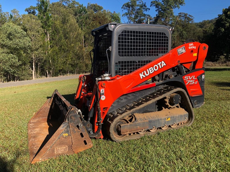 kubota svl75-2 very low hours 355 707983 003