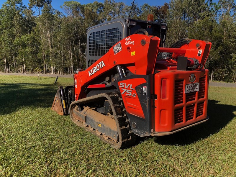 kubota svl75-2 very low hours 355 707983 011