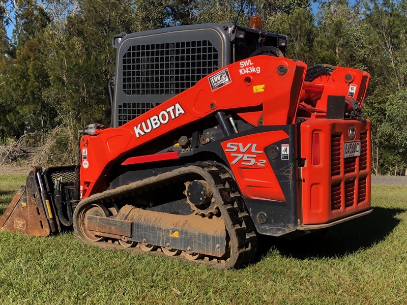 kubota svl75-2 very low hours 355 707983 005