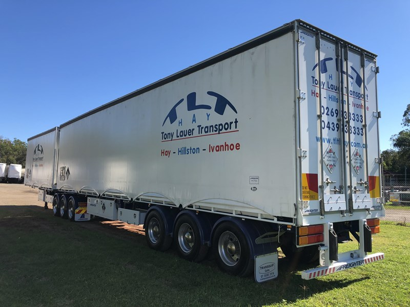 maxitrans b double refrigerated curtainsider 709533 009