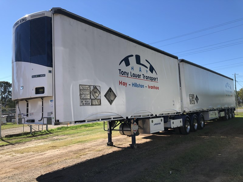 maxitrans b double refrigerated curtainsider 709533 011