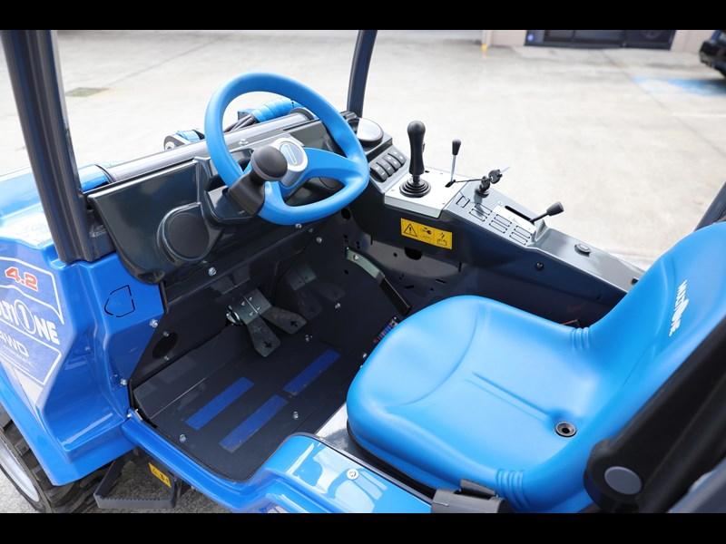 2019 MULTIONE 4 2 MINI LOADER WITH 20HP KUBOTA DIESEL ENGINE for sale