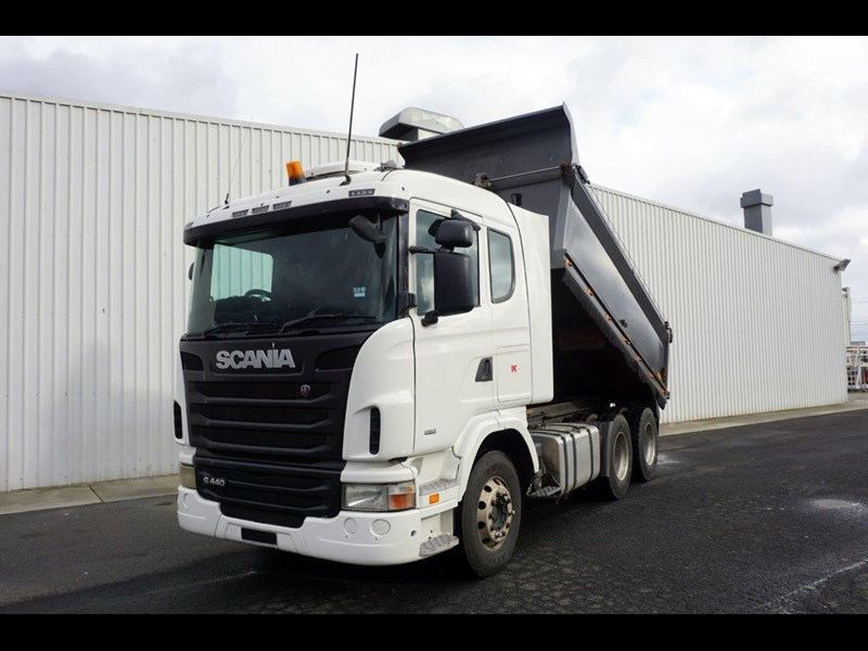 2011 SCANIA G440 6x4 Automatic Bisalloy Tipper for sale