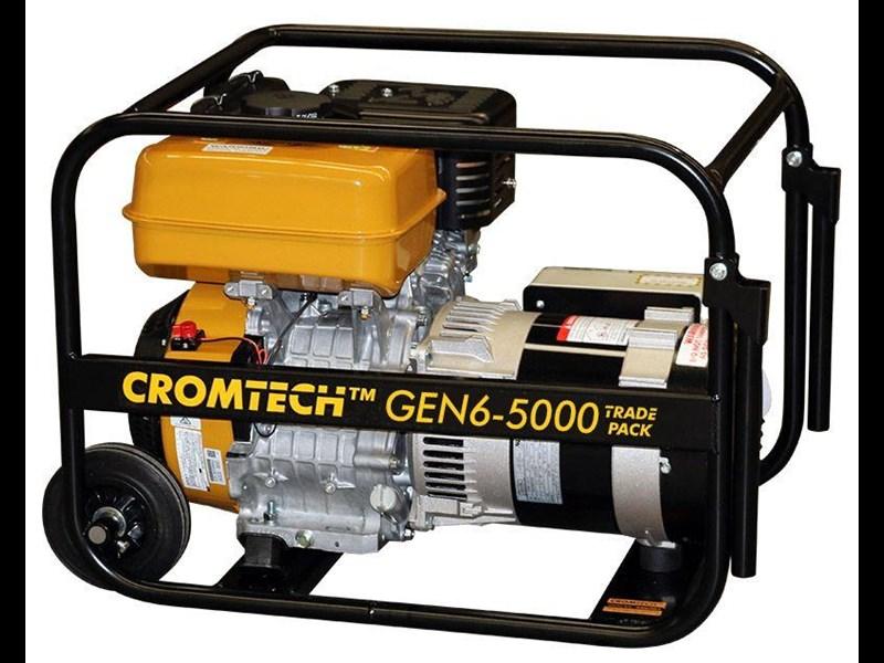 CROMTECH NEW PETROL POWER GENERATOR 6KVA 5000W MAX SUBARU