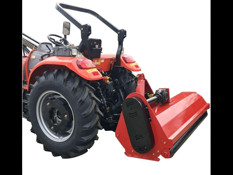 multiquip flail mower 5.5 ft heavy duty mulcher 1720 mm cut with hammer blades, suit tractor pto driven 712024 007