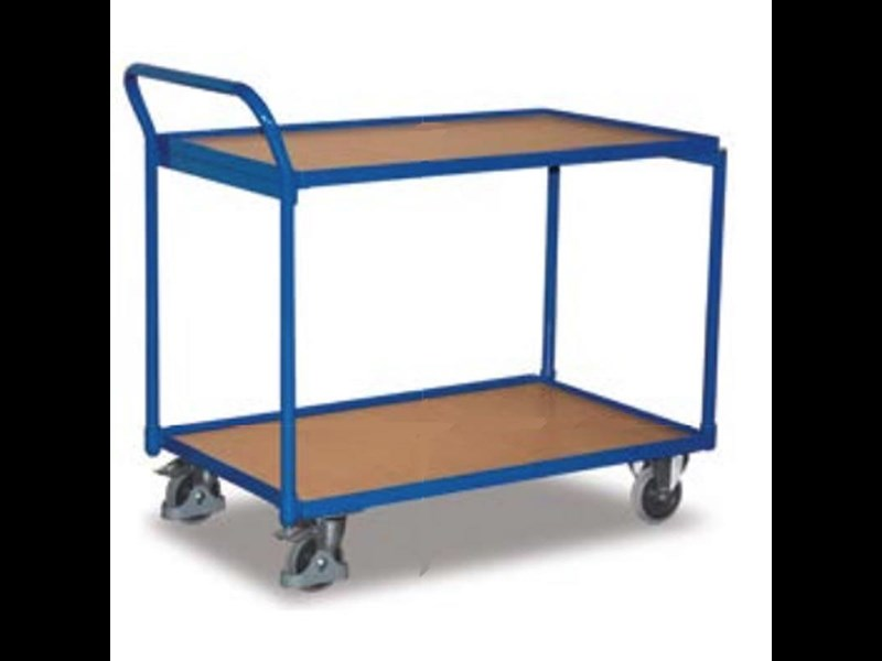 equipment warehouse heavy duty shelf trolley 250 kg load capacity 712422 001