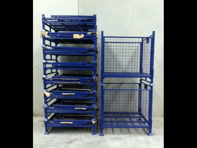 national sales stillage cage 1000kg swing door 713255 005