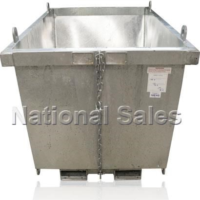 generic/unknown crane bin 0.35m3 with fork pockets 714235 005