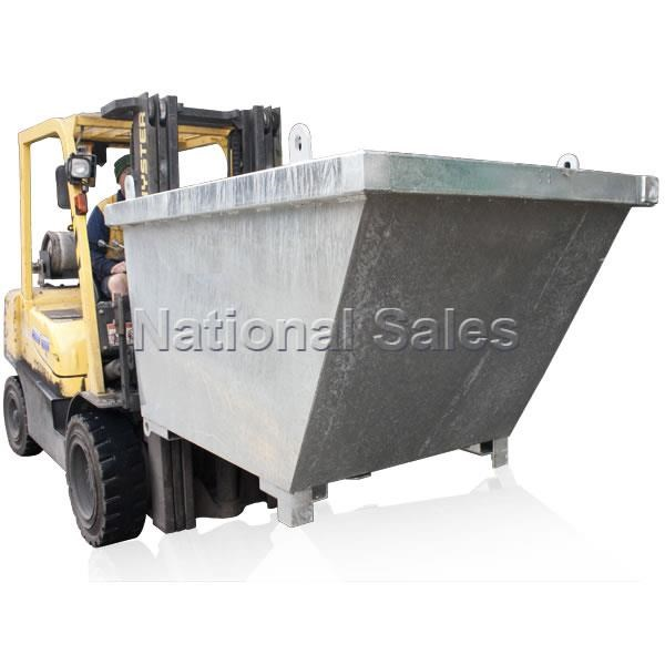 generic/unknown crane bin 0.35m3 with fork pockets 714235 001