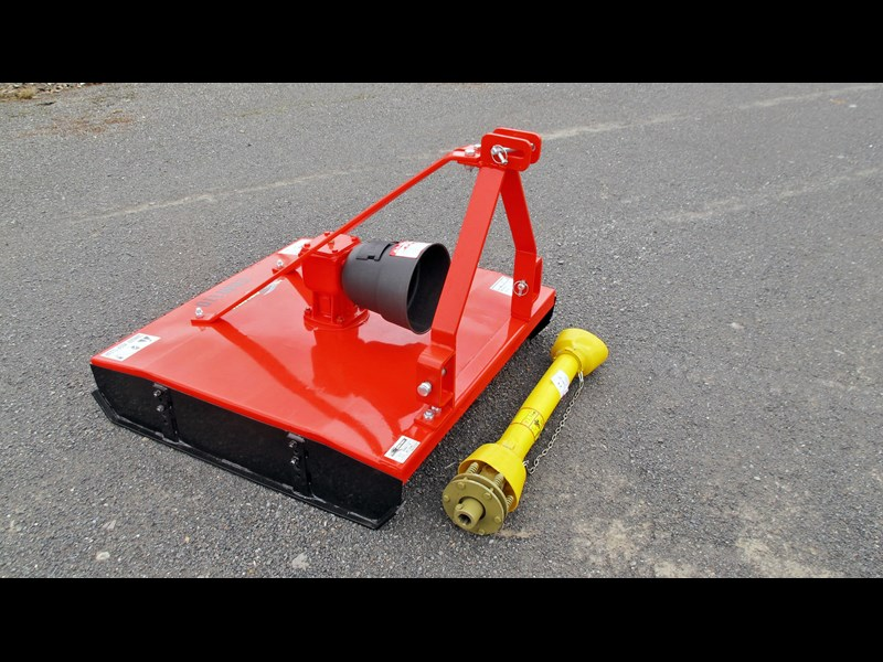 eurofarm erm110 rotary mower /topper/slasher 34338 001