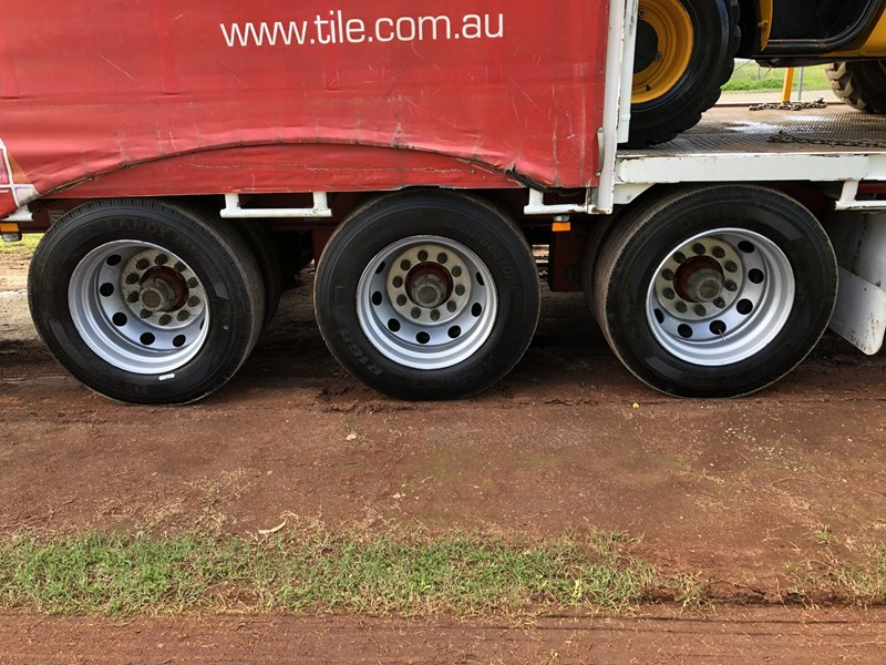 maxitrans drop deck trailer 718152 033