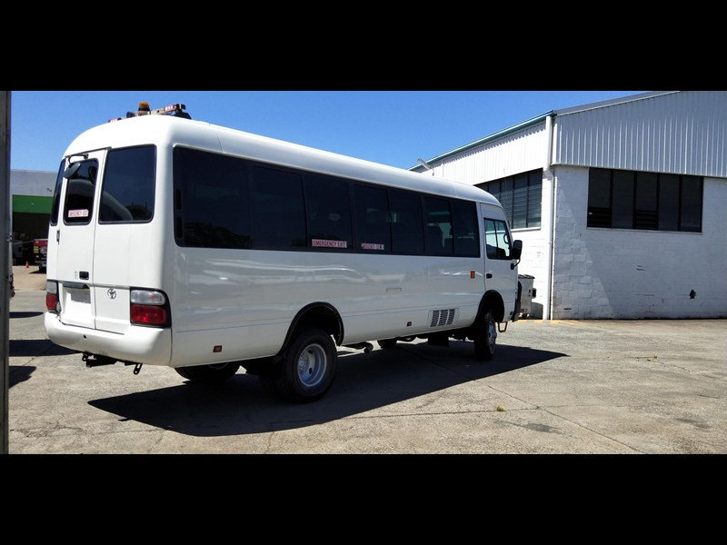 2012 TOYOTA 4X4 CONVERSION OF COASTER BUS 50 Series for sale