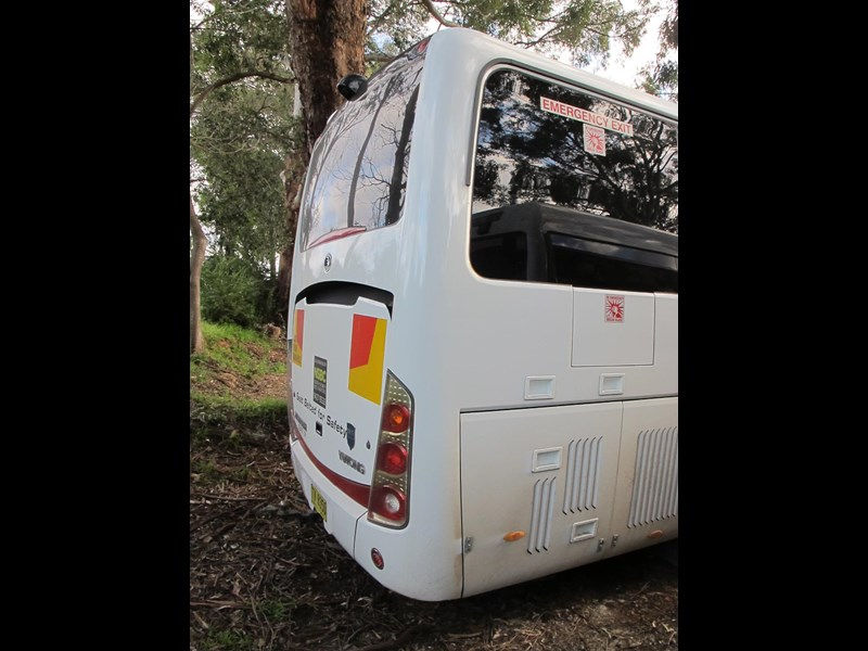 yutong 39 seat zk6930h blue tongue 720079 005
