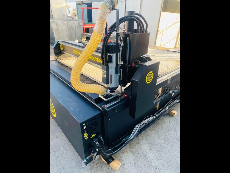 procam cnc router machine with auto tool change and vacuum table - 2.4m x 1.8m 721644 031