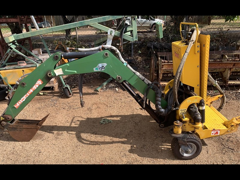 KANGA LOADERS BACKHOE ATTACHMENT for sale