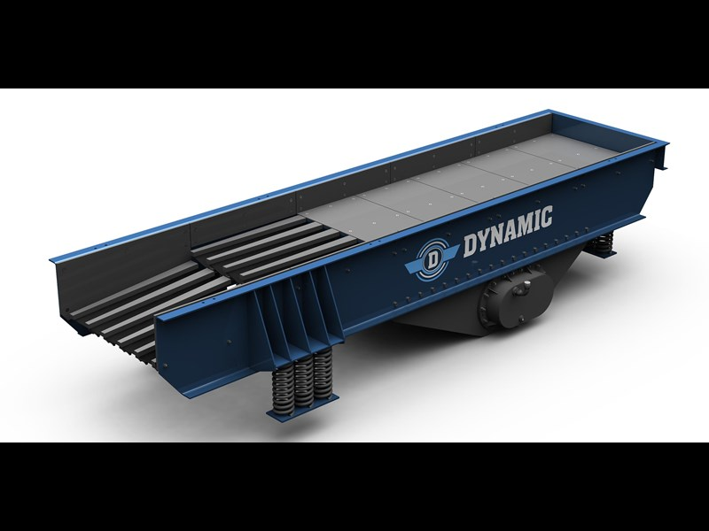 dynamic vibrating grizzly feeder - new 520727 001