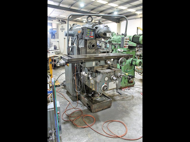 pacific fcm 1600 universal milling machine 726208 005