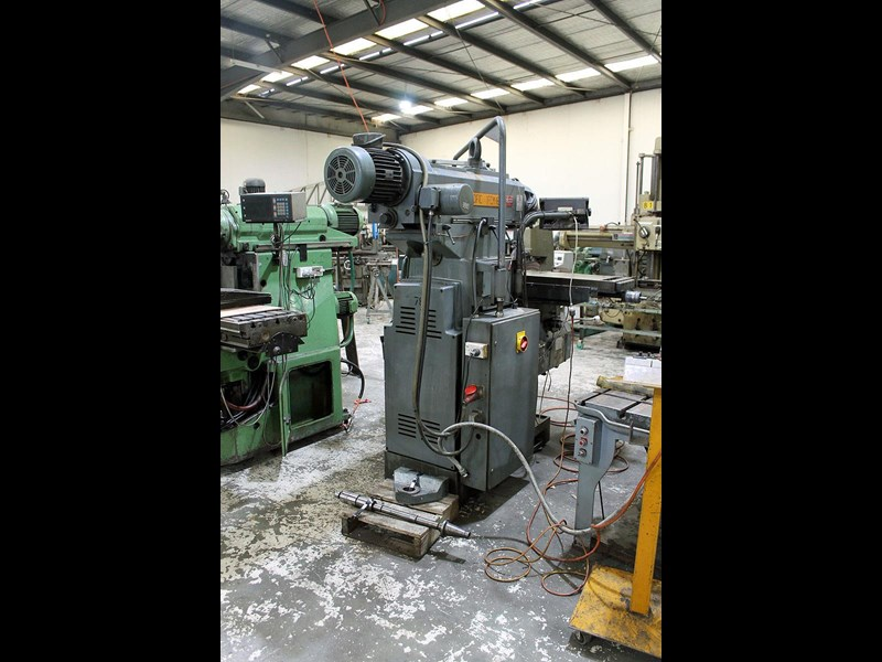 pacific fcm 1600 universal milling machine 726208 007