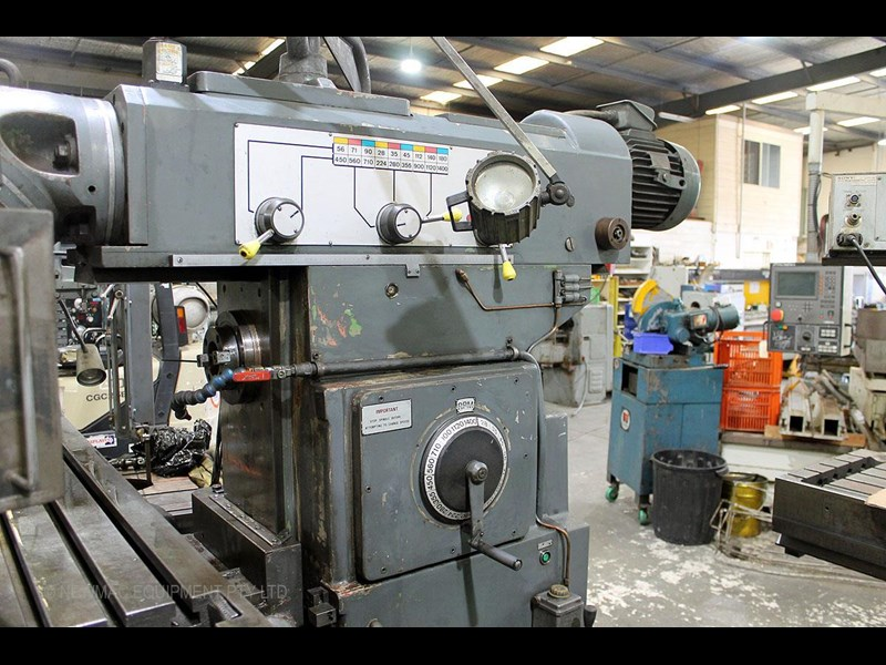 pacific fcm 1600 universal milling machine 726208 013