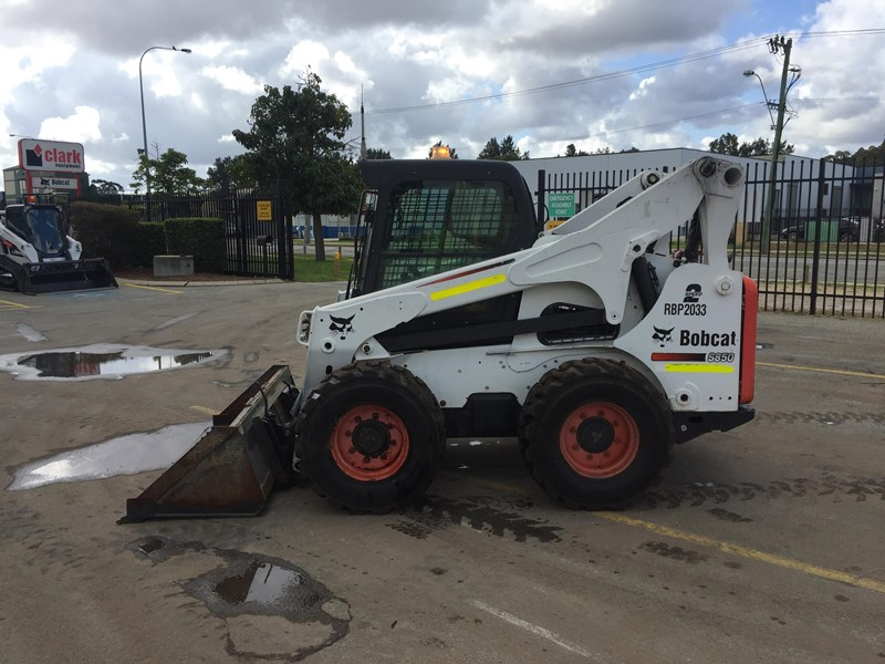 bobcat s850 - low hrs - great condition!! 727851 009
