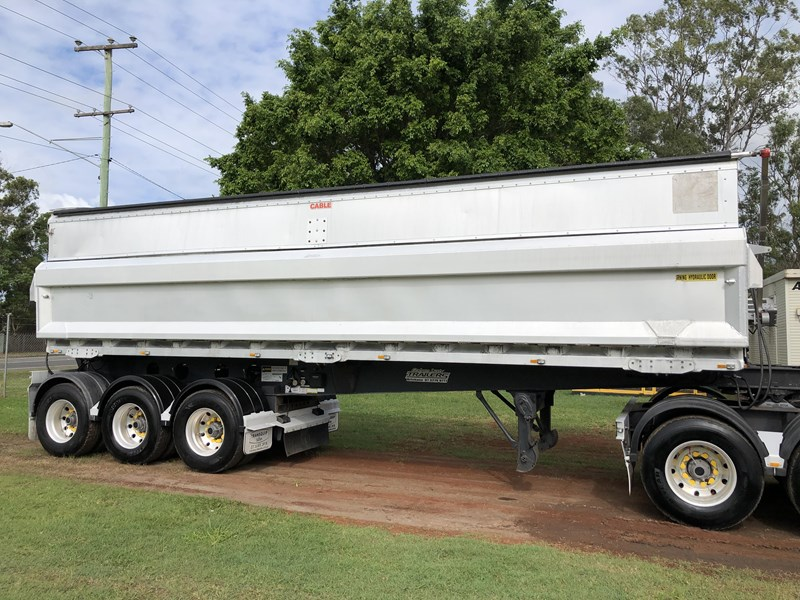 graham lusty b-double aluminium side tipper 730809 053