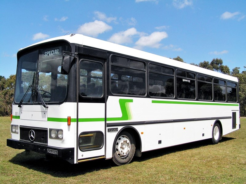 mercedes-benz coach  aluminium body 731672 001
