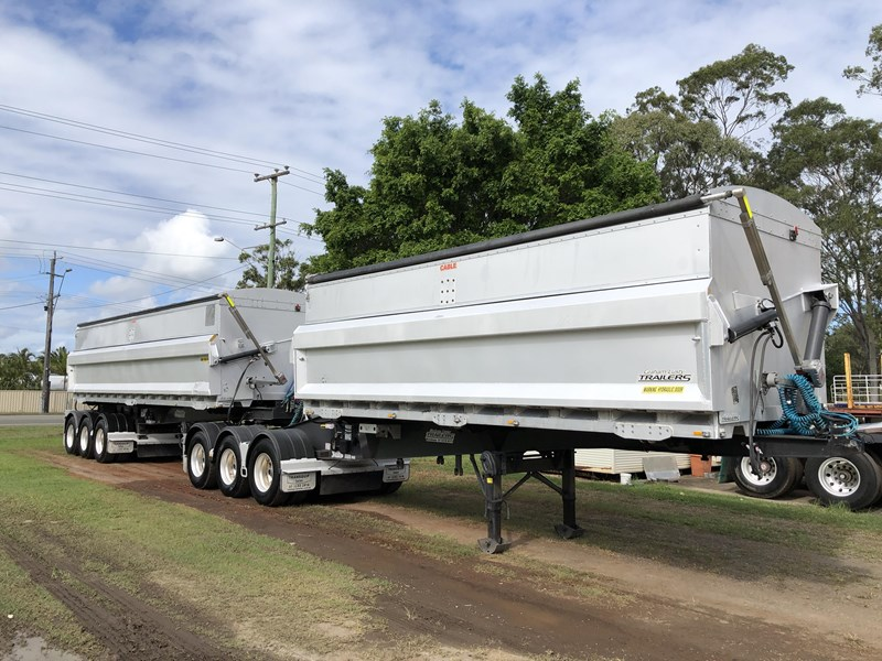 graham lusty trailers b-double aluminium side tippers 732294 001