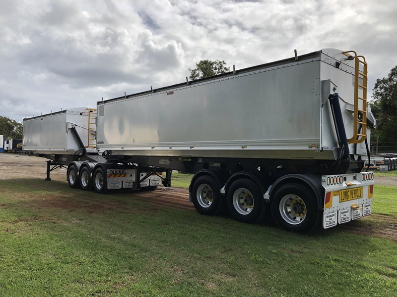 graham lusty trailers b-double aluminium side tippers 732294 007