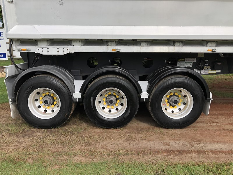 graham lusty trailers b-double aluminium side tippers 732294 041