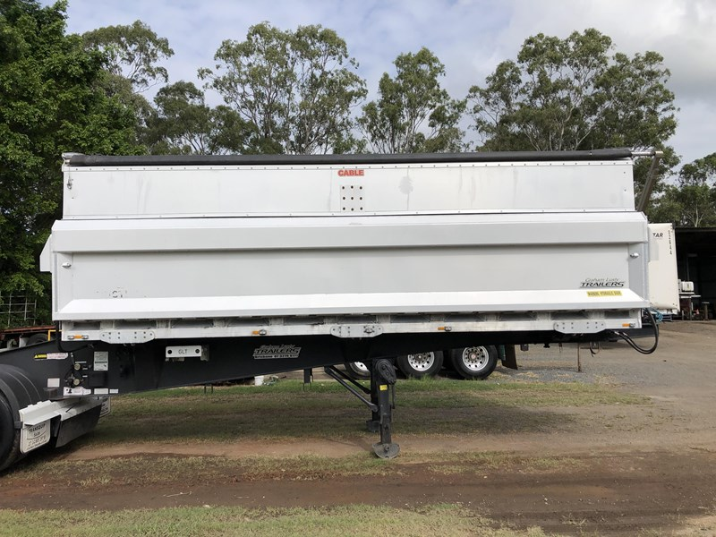 graham lusty trailers b-double aluminium side tippers 732294 055