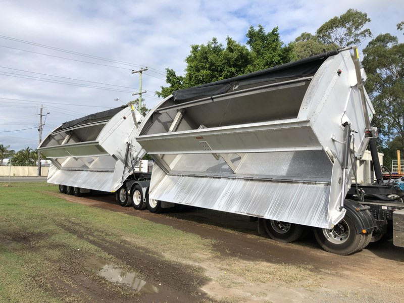 graham lusty trailers b-double aluminium side tippers 732294 071