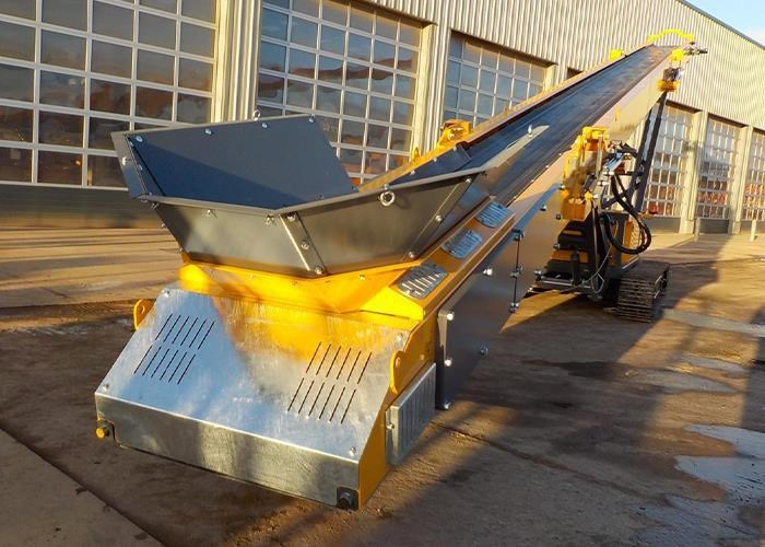 2017 BARFORD TR80 24M TRACKED STOCKPILE CONVEYOR for sale or