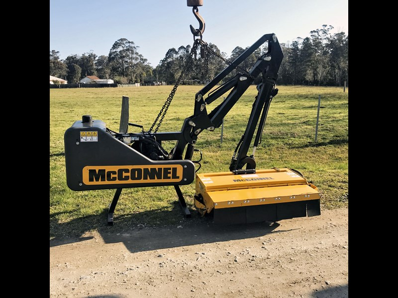 mcconnel side arm flail mower 736355 001