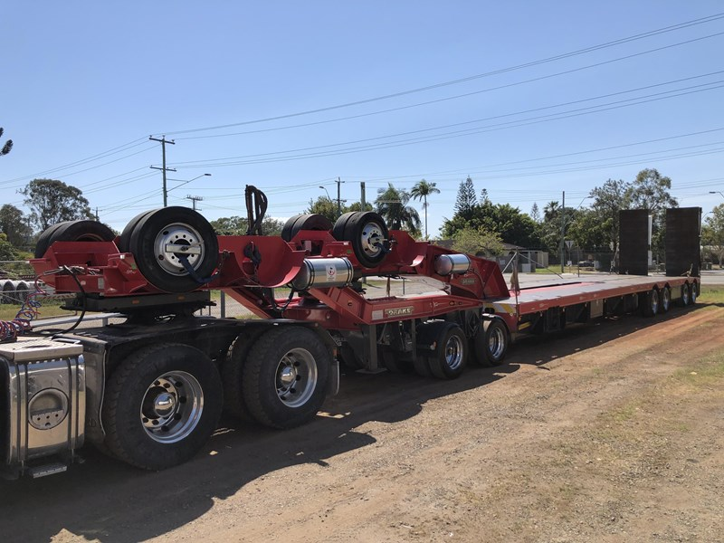 drake 4x8 low loader 2x8 dolly 740456 009