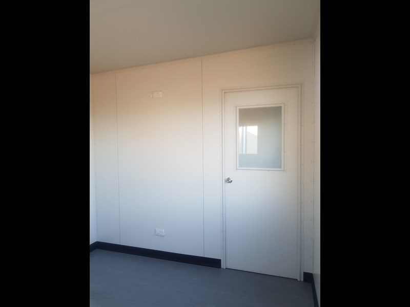 mcgregor 6.0m x 2.9m two room site office 742740 005