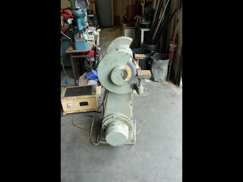 hebco 300mm pedestal grinding machine 742745 003