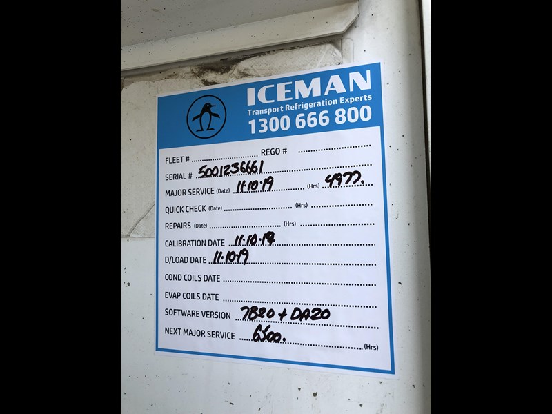 maxitrans b-double 34 pallet refrigerated tautliners 744816 079