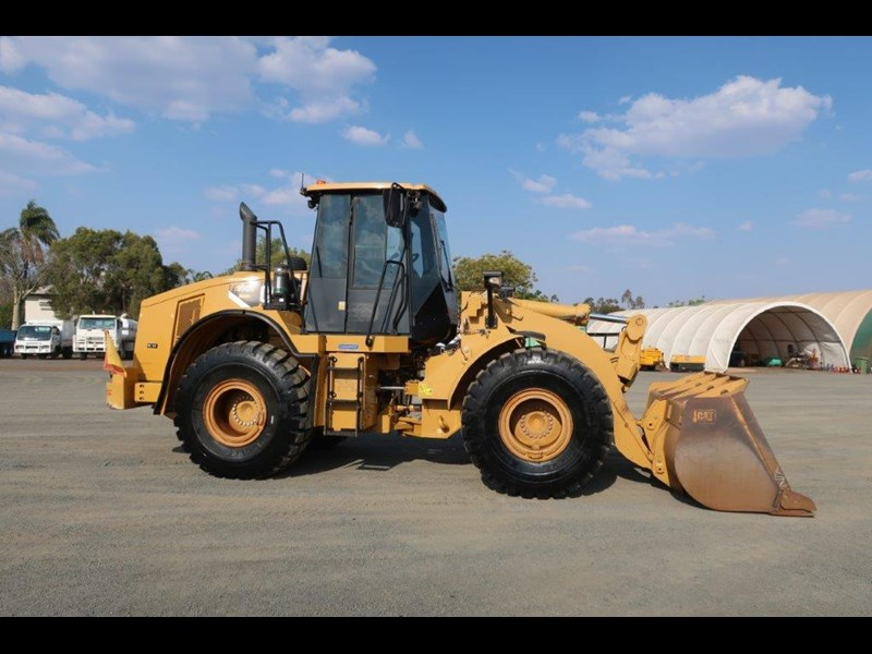 caterpillar 950h loader 751560 005