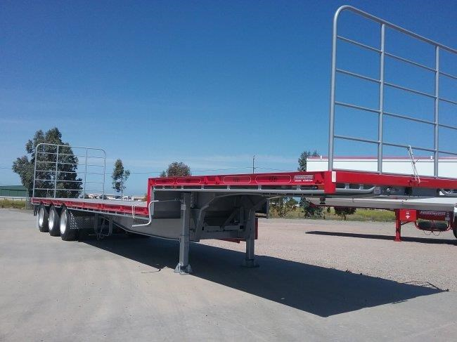 freightmaster 45' tri axle drop deck 753317 001