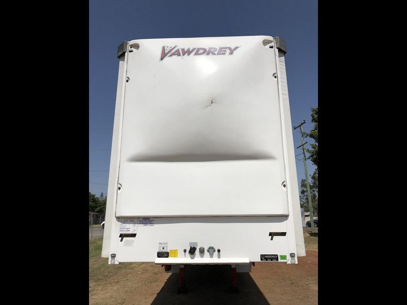 vawdrey 48ft drop deck quad axle curtainsider with mezz decks 754523 009