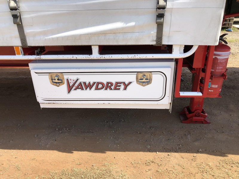 vawdrey 48ft drop deck quad axle curtainsider with mezz decks 754523 021