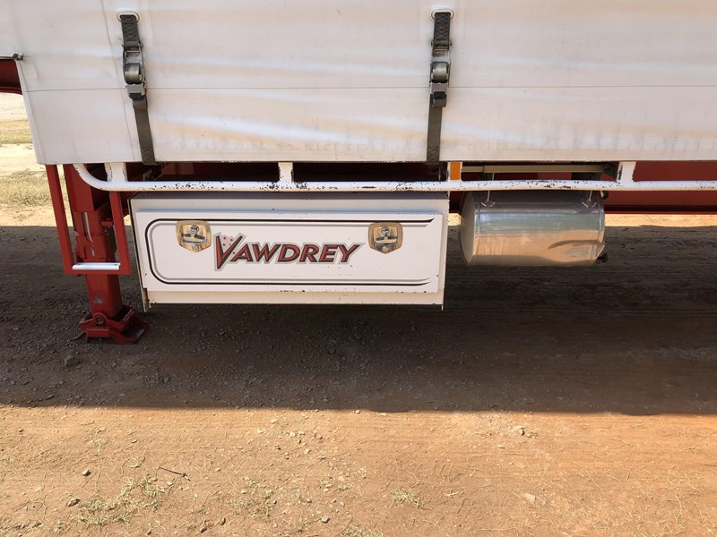 vawdrey 48ft drop deck quad axle curtainsider with mezz decks 754523 043