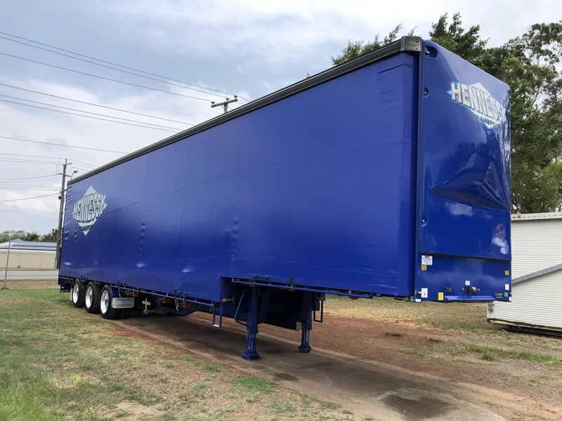 vawdrey 48ft drop deck curtainsider semi trailer with mezz decks 757274 001