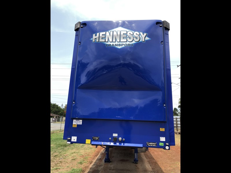 vawdrey 48ft drop deck curtainsider semi trailer with mezz decks 757274 011