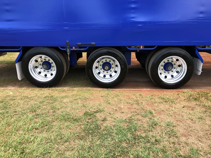 vawdrey 48ft drop deck curtainsider semi trailer with mezz decks 757274 035