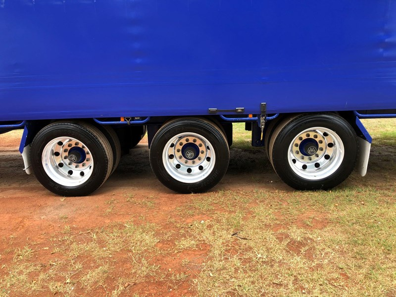 vawdrey 48ft drop deck curtainsider semi trailer with mezz decks 757274 049