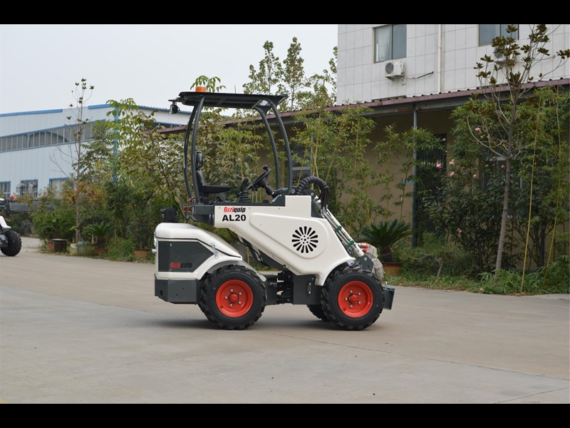 ozziquip al20 articulated loader with telescopic boom 758765 025