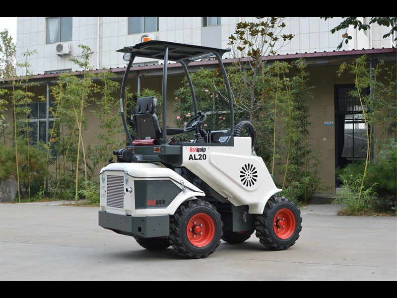 ozziquip al20 articulated loader with telescopic boom 758765 027