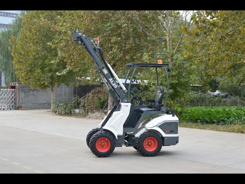 ozziquip al20 articulated loader with telescopic boom 758765 039